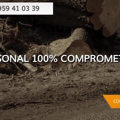 Almacén de maderas en Huelva | Explotaciones Forestales Lagarcía, S.L.L.