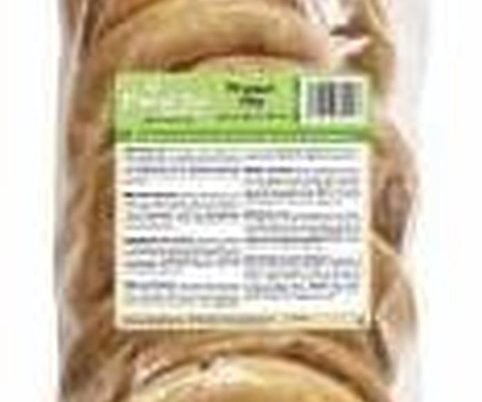 Planet Pet Snacks para perro deliciosos donuts de piel rellenos