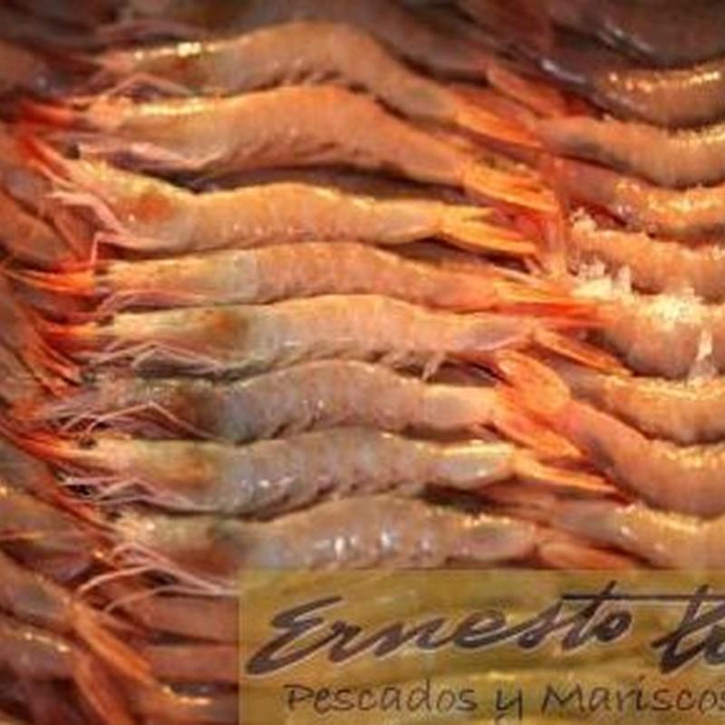 Gamba para plancha: Productos de Ernesto Prieto