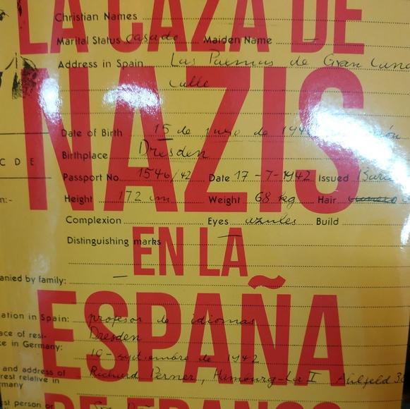 LA CAZA DE NAZIS EN LA ESPAÑA DE FRANCO: SECCIONES de Librería Nueva Plaza Universitaria