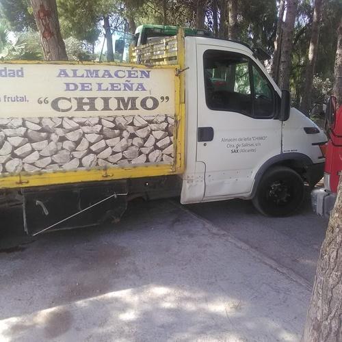 Venta de leña en Alicante