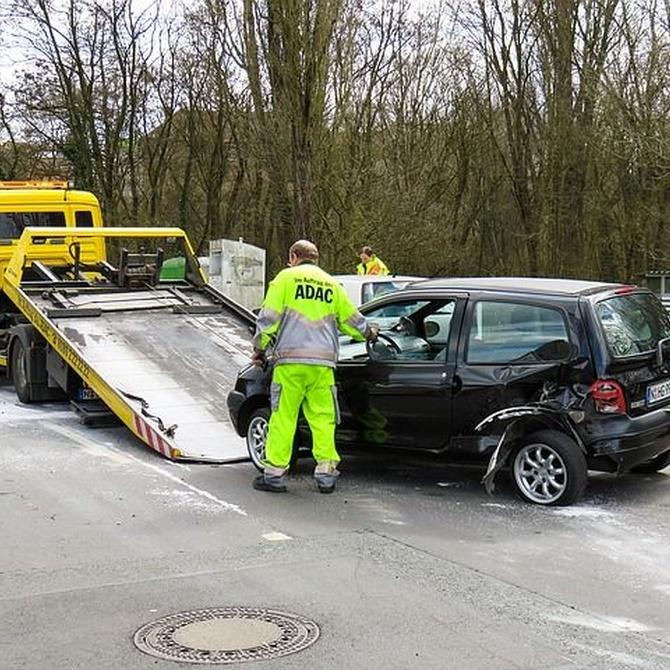 ¿Qué pasos seguir en caso de sufrir un accidente de tráfico?