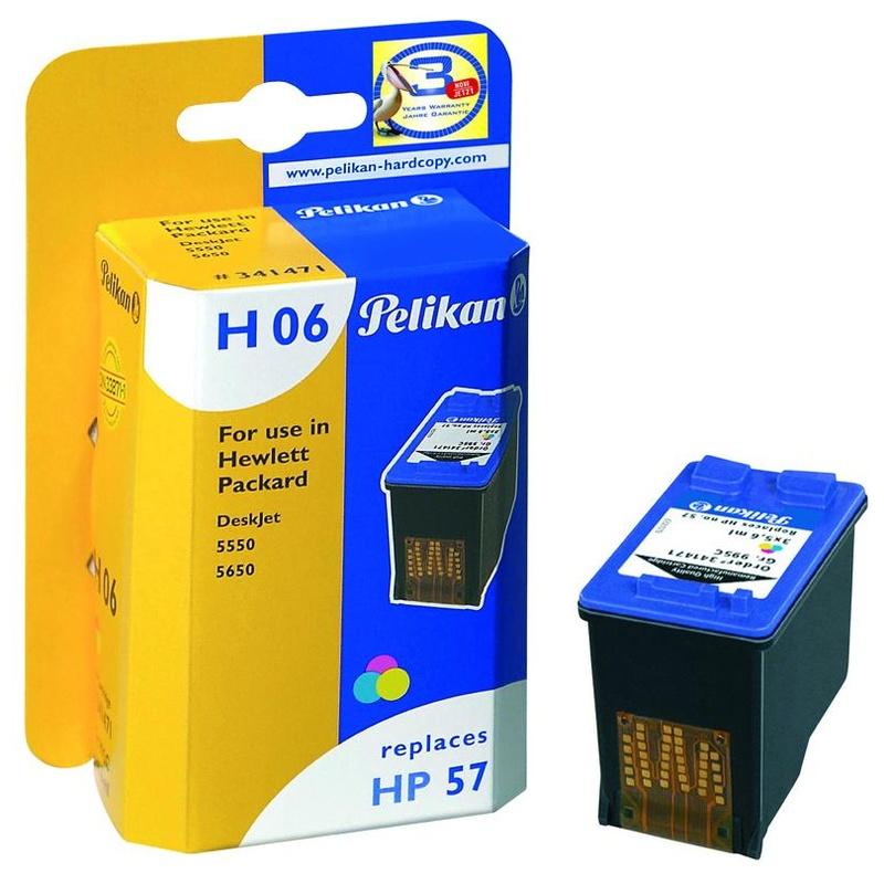 Cartucho HP57 PELIKAN Gr.995C