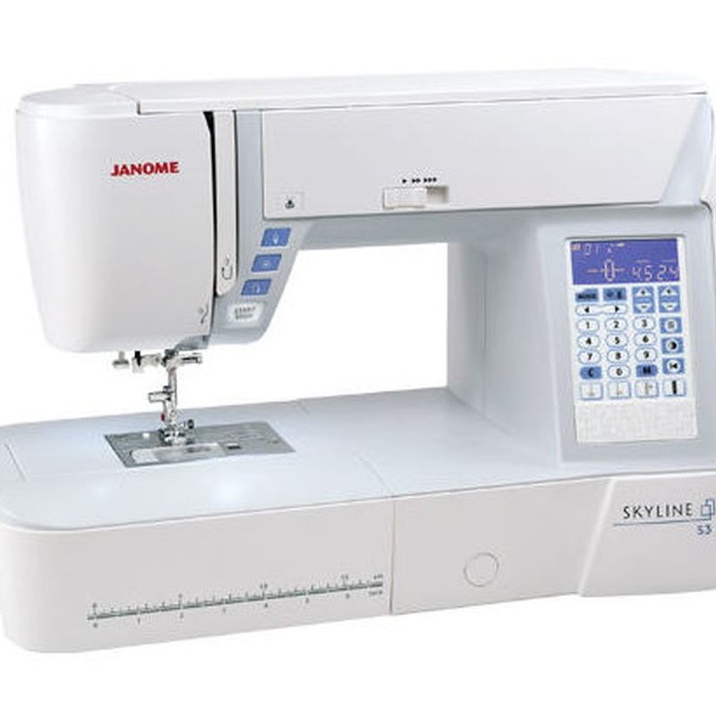 Máquina de coser de patchwork Skyline S3