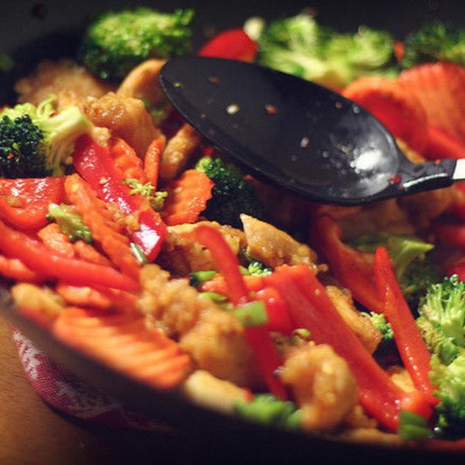 Características de la comida china