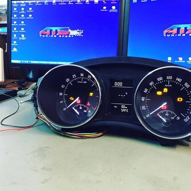 Cuadro de instrumentos : Servicios  de ATS-motorsport