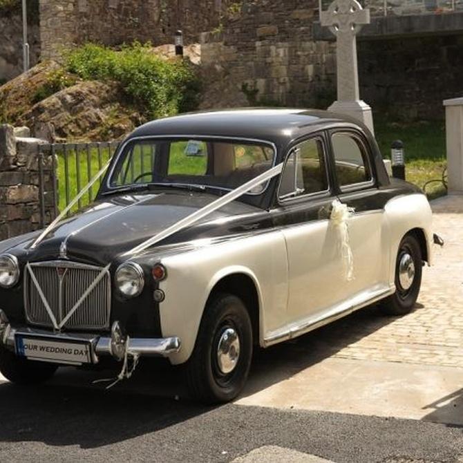 Los coches clásicos más elegidos para bodas