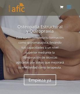 Cursos Osteopatía Reús
