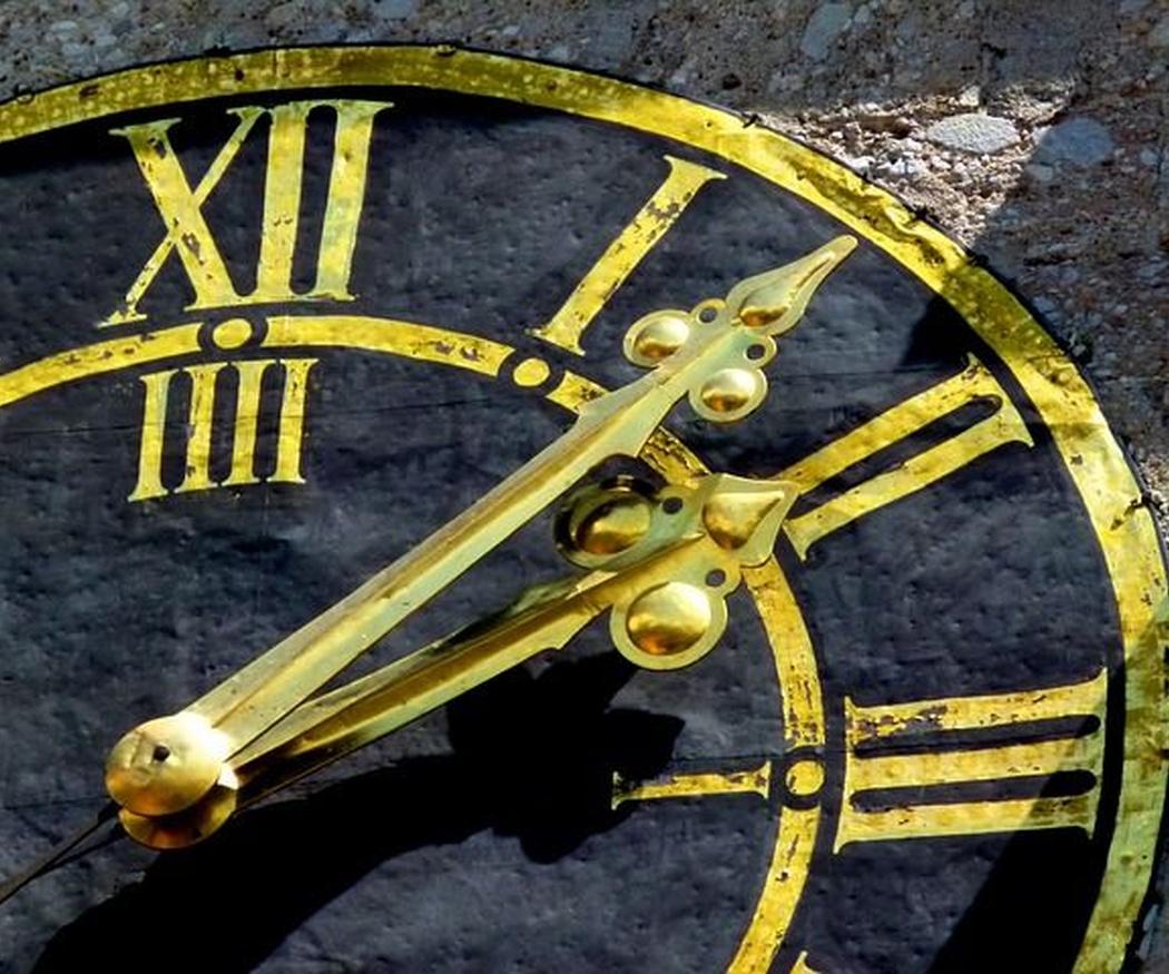 El primer reloj público en España