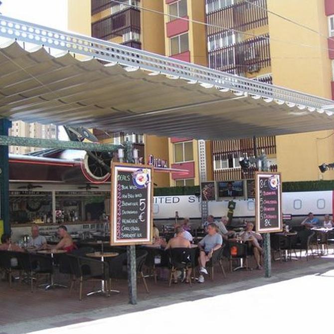 Toldos para bares: confort para tus clientes