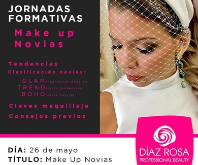 Jornadas formativas Make Up Novias