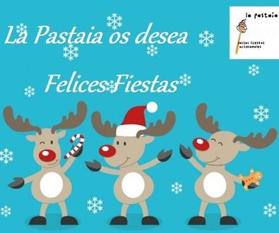 La Pastaia os desea Felices Fiestas