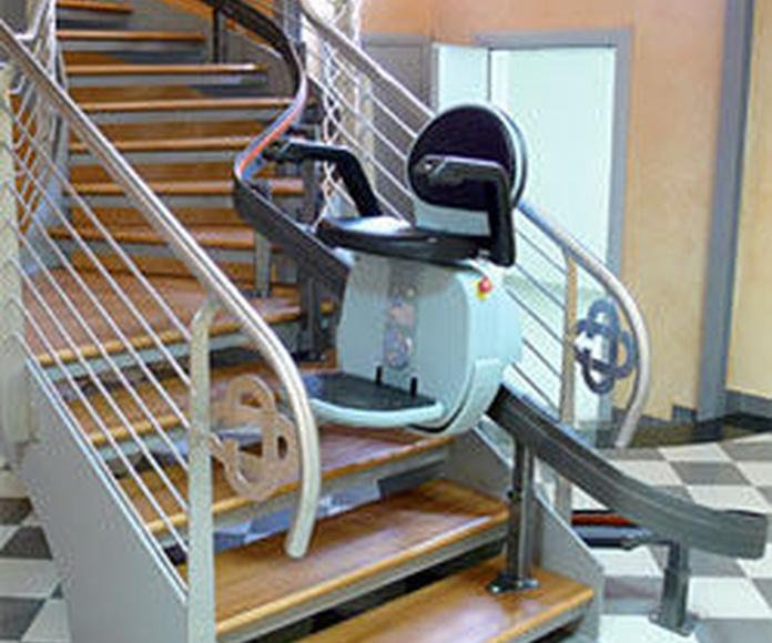 sillas elevadoras Asturias. Sertiber