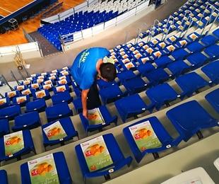 Colocación Publicitaria en Estadios y Pabellones deportivos