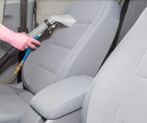 Limpieza de tapicería del automóvil
