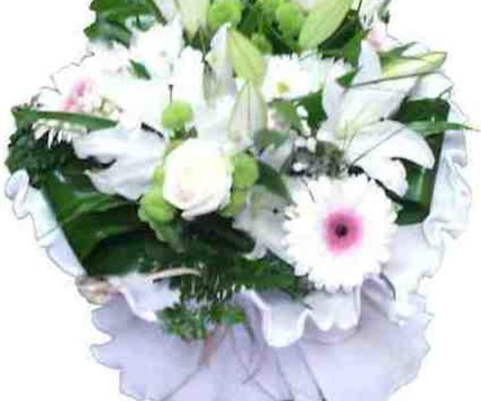 Ramo blanco : Catálogo de Regalos de Floresdalia.com