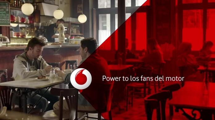 Vodafone te lleva la formula 1moto Gp a tu casa