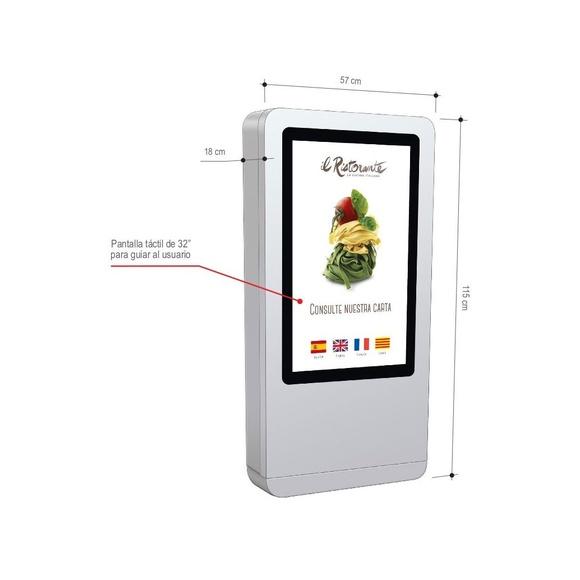 T-Quiosk modelo 10: Productos de Discove