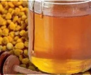 Miel y polen