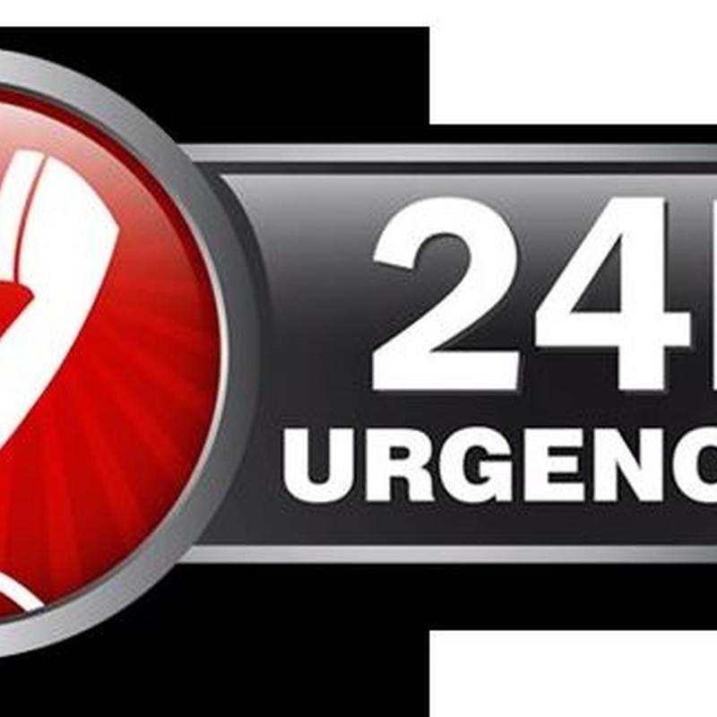 Servicio urgencias 24 horas