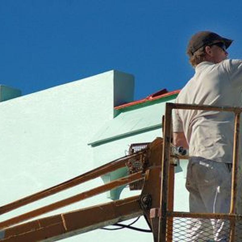 Pintura de exterior: Servicios de Pinturas De La Rosa