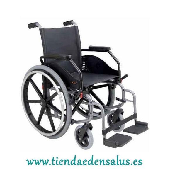 Silla de ruedas autopropulsable y plegable