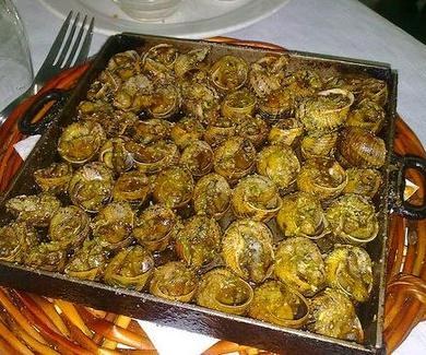 Comer caracoles a la llauna en Granollers