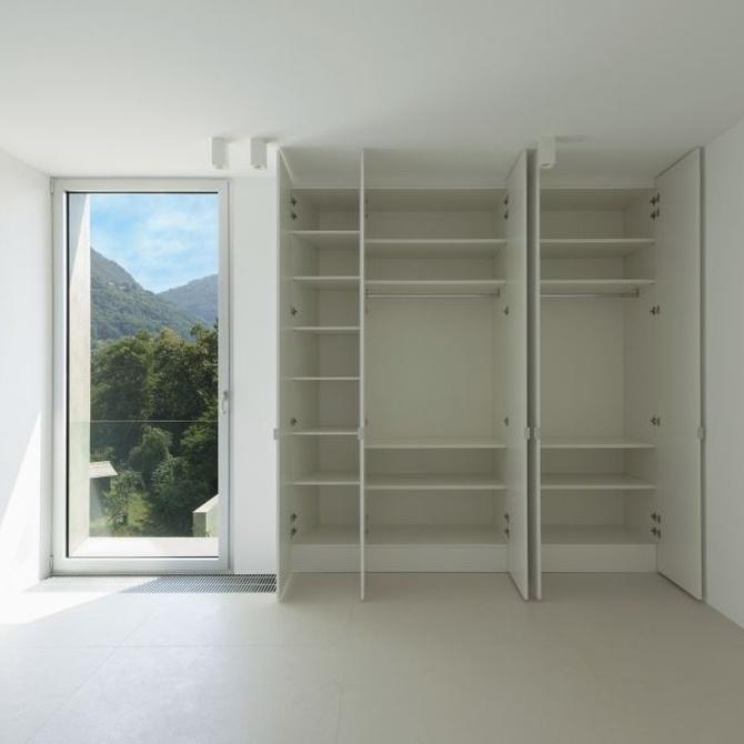 Consejos para diseñar el interior de un armario
