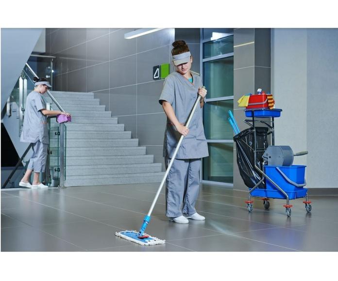 Limpieza de comunidades y escaleras: Servicios de Netes