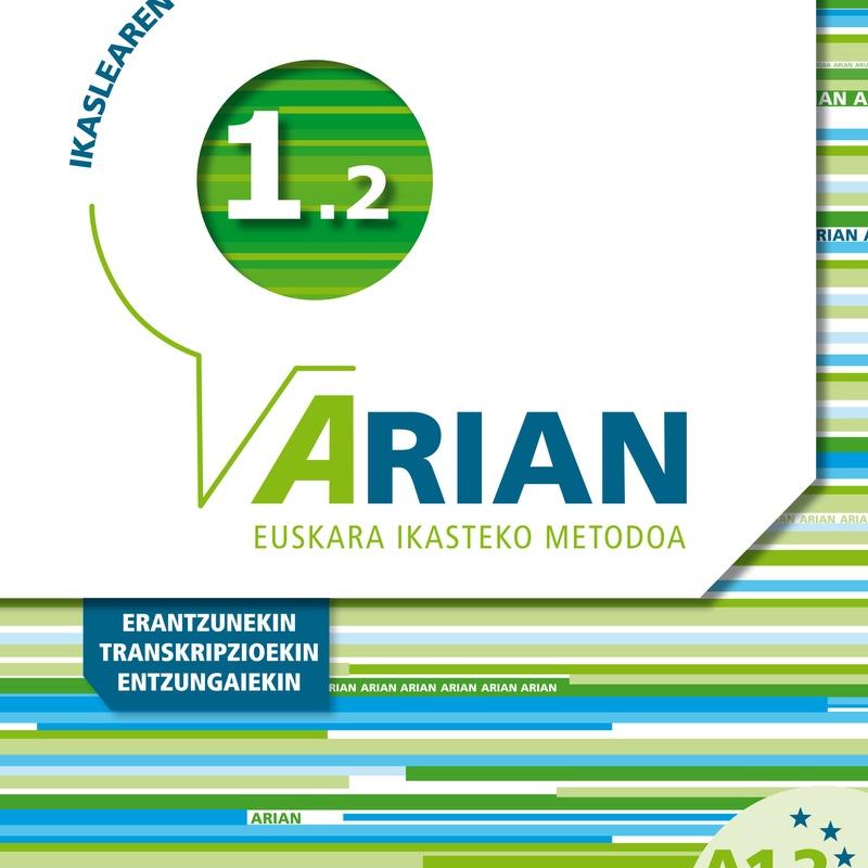 ARIAN A1.2 IKASLEAREN LIBURUA CD Y ERANTZUNAK
