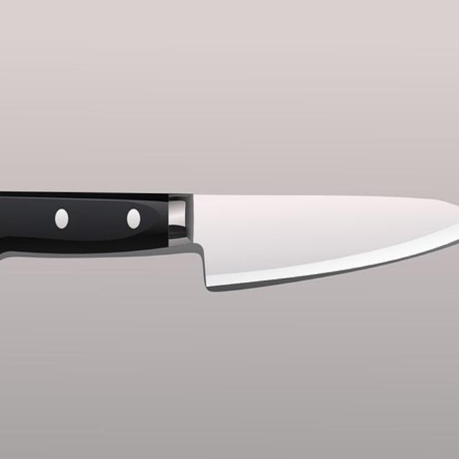 Consejos para usar un cuchillo con seguridad en la cocina