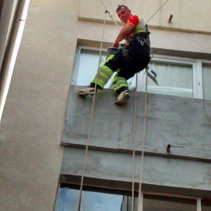 Trabajos verticales: Servicios de Asturcore