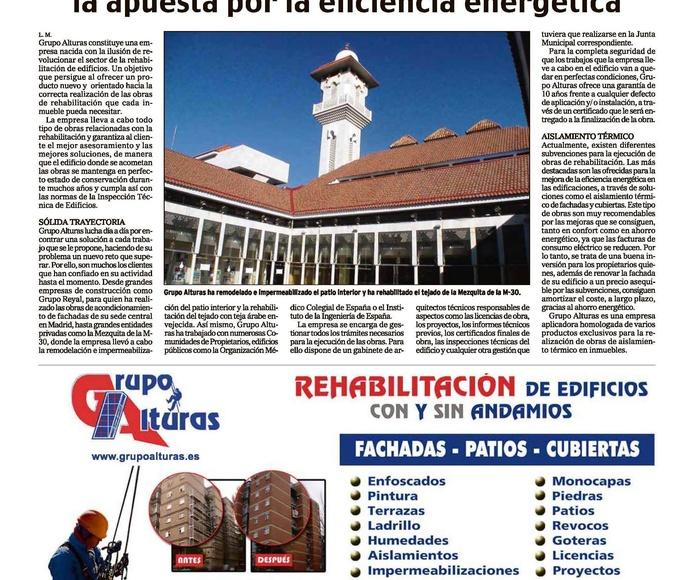 """Reportaje en el periódico """"El mundo"""""""
