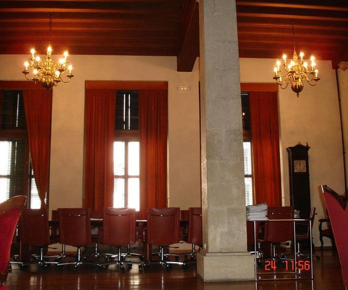Ayuntamiento de Girona. Edificio Consistorial.