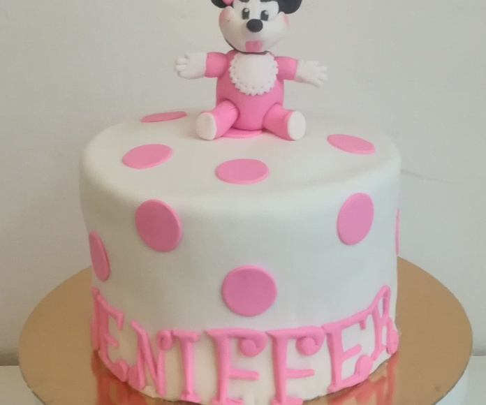 tarta minnie bebe