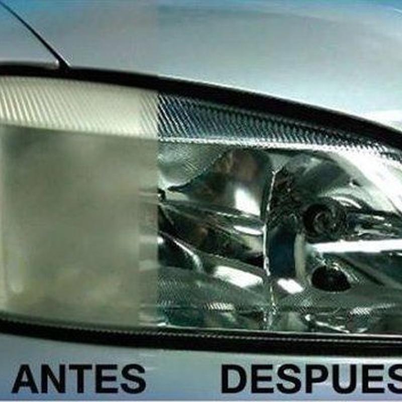Pulido de faros: Mantenimiento  de Autobox Sabadell