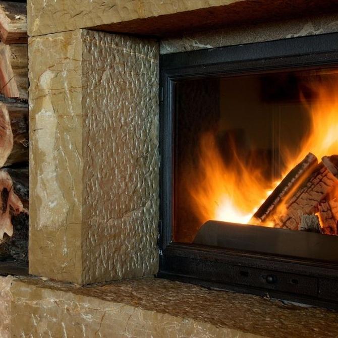 Diferentes chimeneas para interior