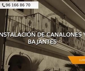 Canalones de zinc en Valencia | Eurocanal