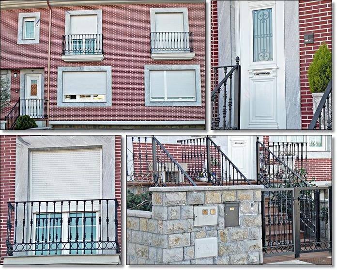 Puertas de acceso o entrada: Productos y servicios de Aluminios Tascón