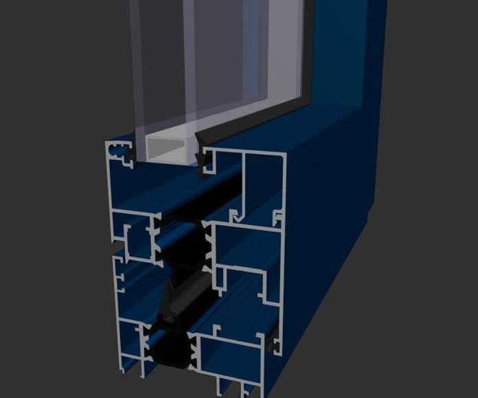 Ventana Aluminios Barcelona Alba 65 RPT Canal 16: Productos de Catal Pur