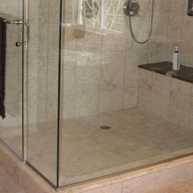 Posibles materiales para platos de ducha