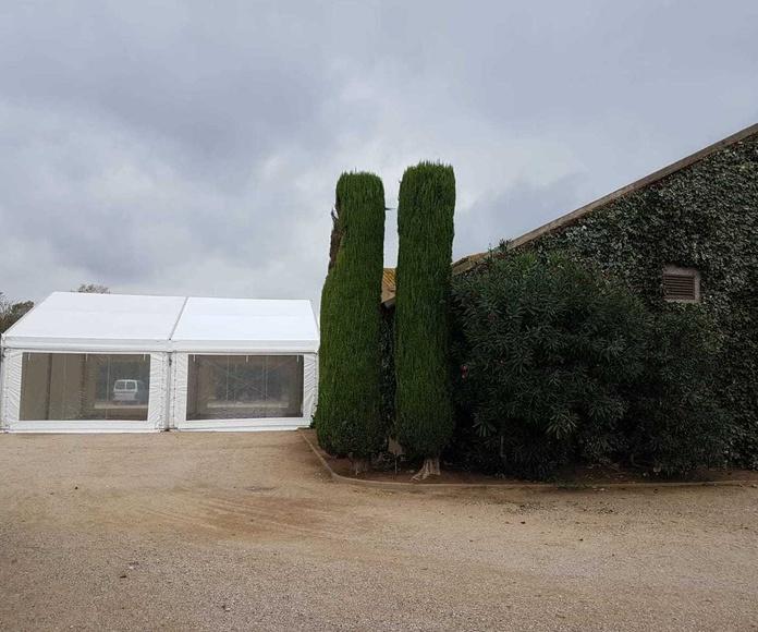 Variedad de carpas y pagodas: Carpas y pagodas de Carpas Casamayor