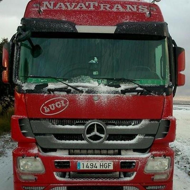 Servicio de transporte: Servicios de Área de servicio Navatrans