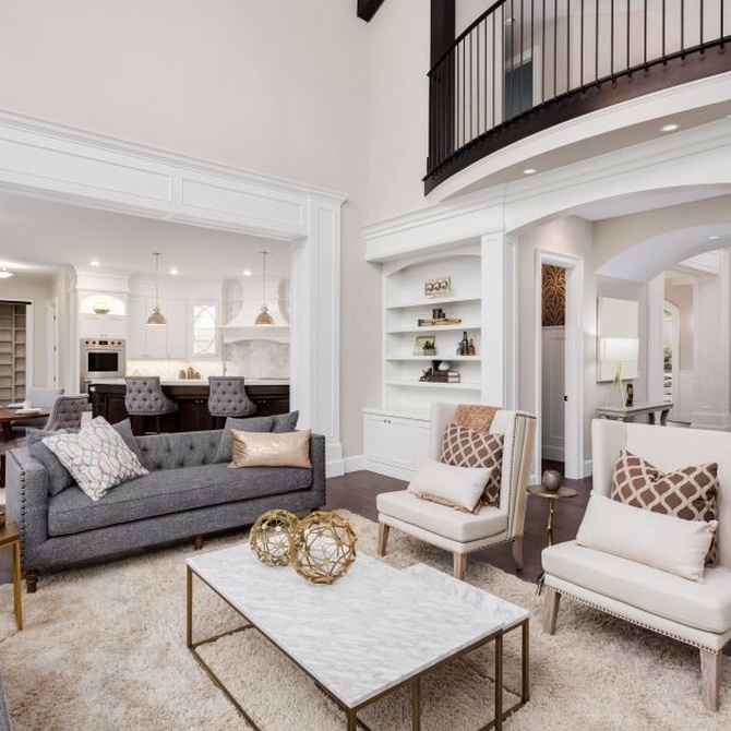 Divide ambientes en la casa