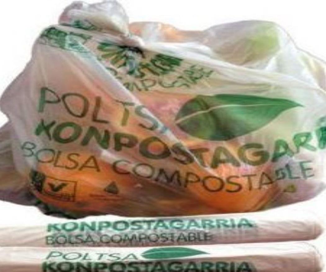 Las bolsas compostables