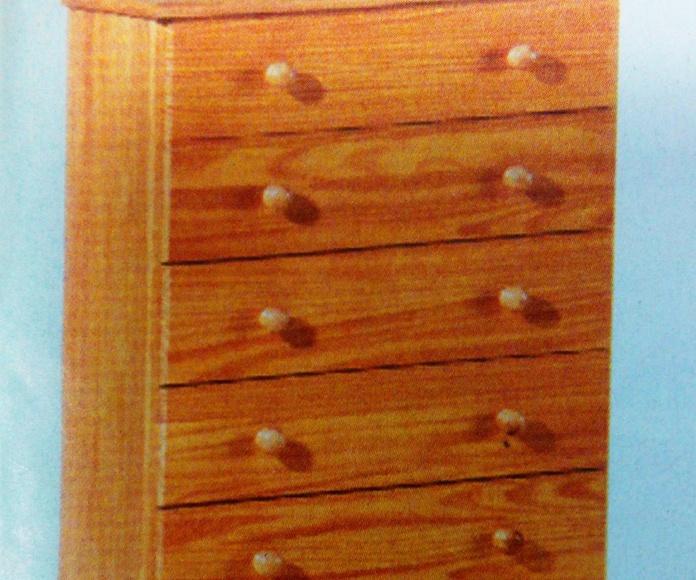 sinfonier pino mod.45: Productos  de Muebles Llueca, S. L.
