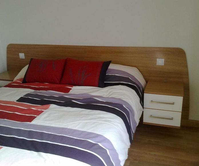 Mesillas dormitorio y cabezal