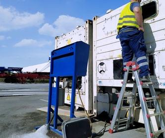 Revisión y mantenimiento de contenedores frigoríficos: Productos y servicios  de Costafrío