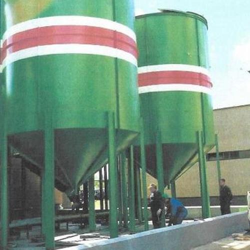 Silos de almacenamientos en acero carbono