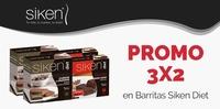 Promoción 3x2 barritas Siken Diet